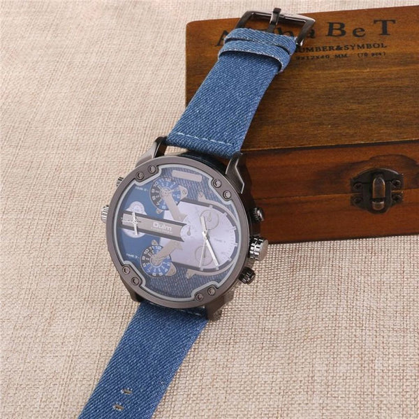Oulm Men's Dual Time Display Watch – JT Home & Away