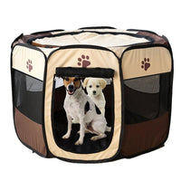 Portable Folding Pet Kennel In 2 Sizes