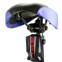Rear LED Bicycle Light with Laser Projected Bike Lane