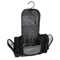 Waterproof Hanging Travel Cosmetic or Toiletry Bag, Detachable Side Pouches