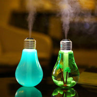 Unique Lightbulb-Style Ultrasonic USB Home Humidifier