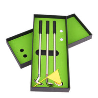 Mini Golf Club Ballpoint Pen Set