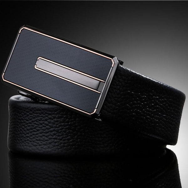 Hidden Compartment Money-Saving Genuine Leather Belt