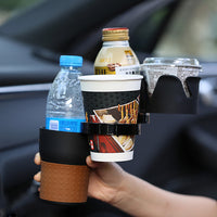 Multi-Drink Car Cup and Accessories Holder