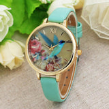 Blue Hummingbird Wrist Watch