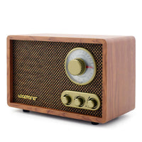 True Vintage Style Tabletop AM/FM/ Bluetooth Radio