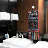 Foldover Hanging Travel Toiletry/makeup Bag