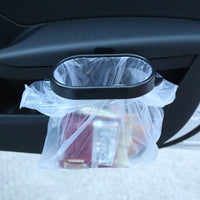 Vehicle Trash Bag Holder, Self-Adhesive, Uses Any Plastic Bag