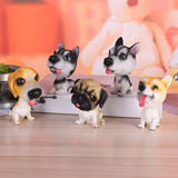 Fun Doggy Bobble Head, 5 Different Breeds