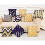 Decorative Throw Pillow Covers in Fresh Springtime Designs
