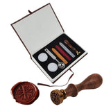 A-Z Wax Letter Sealing Stamp Complete Kit, 26 Letters Available