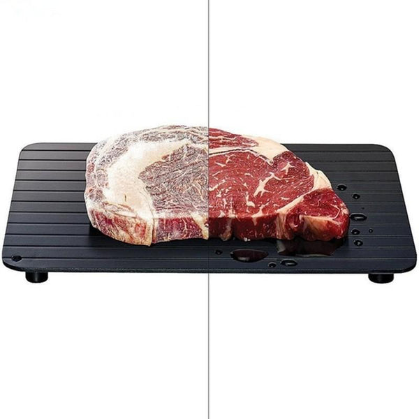 Fast Defrosting Tray for Fish, Meat, and Poultry