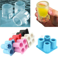 Create Your Own Shot Glass Ice Cube Tray