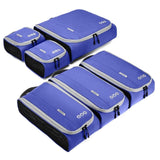 "Set of 6 Packing Cubes to Fit a 24"" Carry on Suitcase - JT Home & Away"