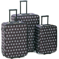 Skull Pattern Luggage - JT Home & Away