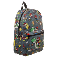 SNES Mario Sublimated Backpack - JT Home & Away