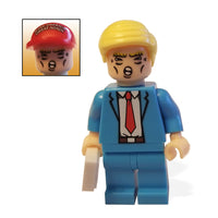 Souvenir Donald J. Trump Minifigure with Hair and MAGA Hat
