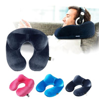 U-Shape Travel Pillow with Head Stabilization - JT Home & Away