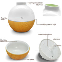 Ultrasonic 130ml USB Humidifier/Aroma Diffuser - JT Home & Away