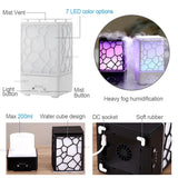 Ultrasonic Air Humidifier and Essential Oil Diffuser and Lamp, 2 Color Styles - JT Home & Away