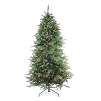 "4.5' x 35"" Pre-Lit Washington Frasier Fir Slim Artificial Christmas Tree - Clear Lights"