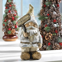 Winter Gnome Figurine