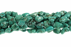 Turquoise 12-15mm Nugget Beads - Sold Individually