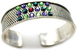 Create Your Style Just add Crystals Bangle - Silver - 1 Piece