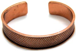 Create Your Style Just add Crystals Bangle - Copper - 1 Piece