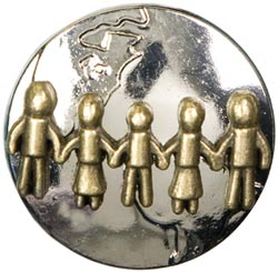 Symbolize Metal Accents - People/Earth Silver and Gold