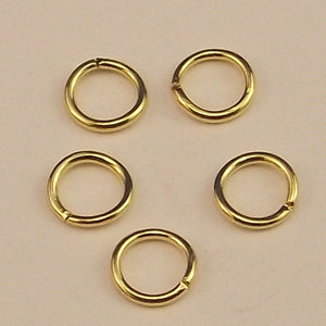 Gold Plated Jump Ring 5mm - Sold Individually