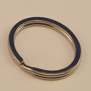 Nickel Split Ring - 34X28 mm - Sold Individually