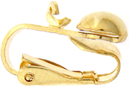 Gold Plated Ear Clips - Package of 2