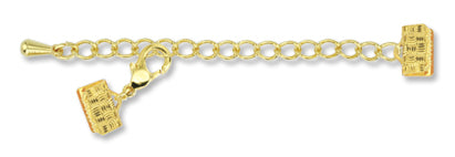 Artistic Wire Mesh Clasp - Gold - 18 mm - 2 Sets