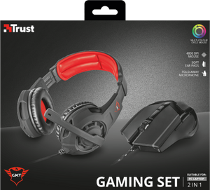 GXT 784 Gaming Headset & Gaming Mouse
