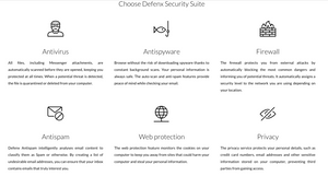 Defenx Security Suite - 1PC/1User