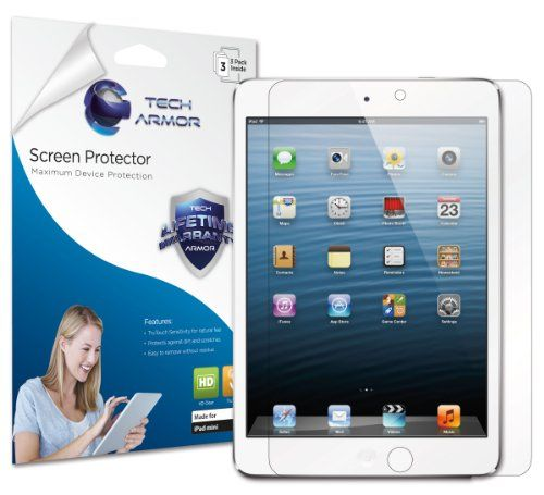 iPad Mini Screen Protector - 3PK by Tech Armor