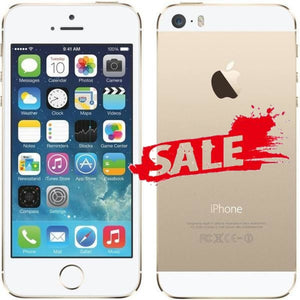 Iphone 5S Refurbished (Grade A) Gold / 16Gb None (Headset Only) Mobile Phone