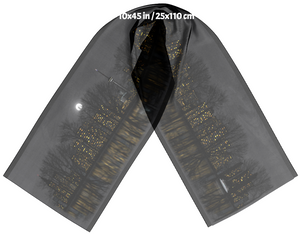 Toronto Night Skyline Long Scarf