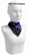 San Fransisco Evening Sunset Night Skyline Square Scarf