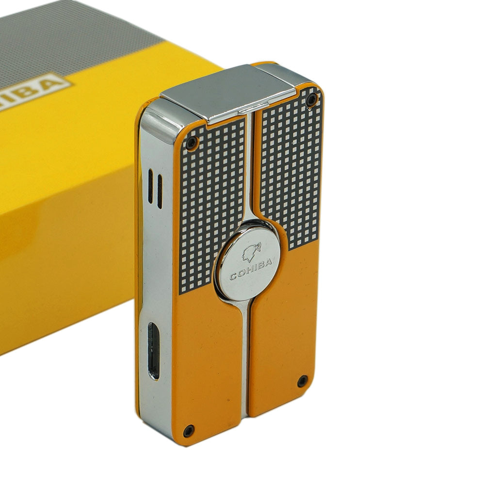 Cohiba 3 Torch Jet Lighter with Cigar Hole Punch