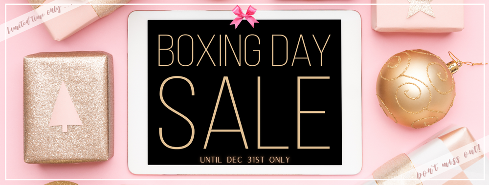 SB's BOXING DAY Holiday Sale
