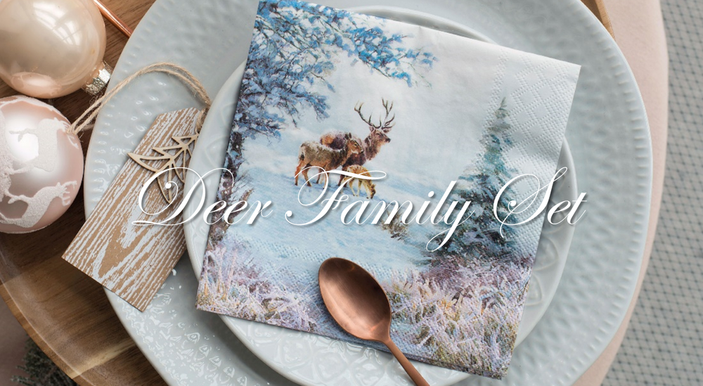 Deer Family Set