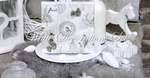 White Decorations Set