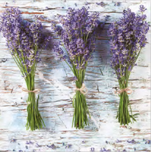 Lunch Napkin - Three Bunches of Lavender