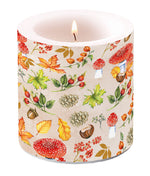 Candle SMALL - Autumn Pattern - COLLECTION