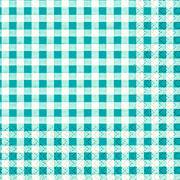 Load image into Gallery viewer, Cocktail Napkin - Karo TURQUOISE