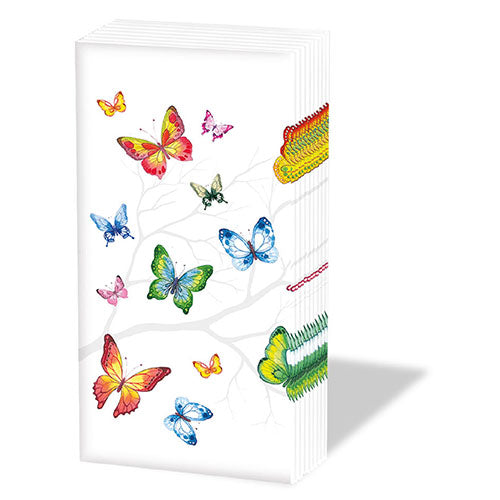 Pocket Tissue - Colourful Butterflies - COLLECTION