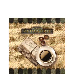 Load image into Gallery viewer, Cocktail Napkin - COFFEE NOSTALGIC (Collection: 13307940)