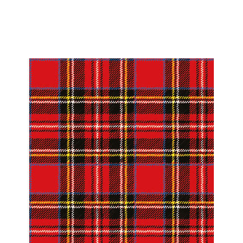 Cocktail Napkin - Scottish RED (Collection: 13308790)